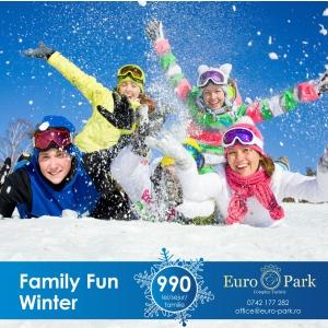 Complex Euro Park: locul distractiilor de iarna, la 1360m