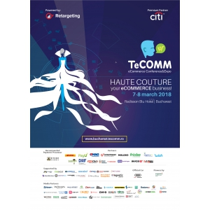 A mai rămas doar o zi până la Conferința de Comerț Electronic TeCOMM
