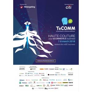 Comunicat de presă 14 februarie 2018 Provocările erei digitale și adaptarea retailerilor la tehnologiile actuale la TeCOMM București 2018