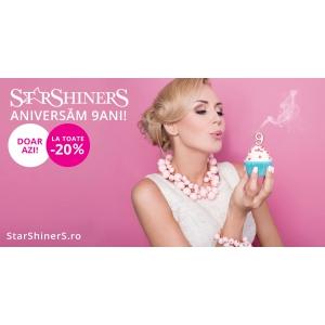 9 ani de StarShinerS cu reduceri ca de Black Friday!
