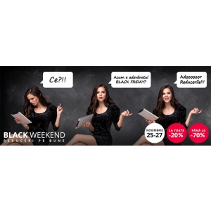 Încă un weekend de Black Friday pe StarShinerS.ro și în ShowRoomurile StarShinerS