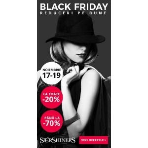 StarShinerS ofertă record pentru Black Friday!