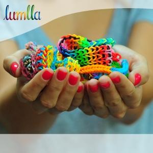 pardoseli elastice. Lumlla lansează varianta româneasca a revoluţionarului joc cu elastice colorate!