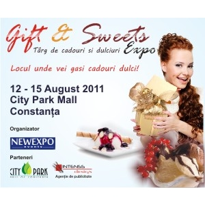 NEWEXPO. Gift & Sweets Expo - Targ de Cadouri si dulciuri - City Park Mall