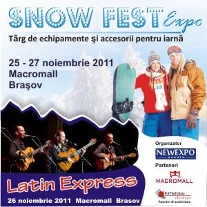 SnowFest Expo - Targ de echipamente si accesorii de iarna. Targ de echipamente sportive si accesorii de iarna