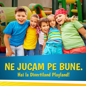 Ne Jucam pe Bune la Divertiland Playland