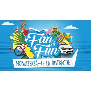 Tombola #FanDeFun pune la bataie marele premiu un autoturism si zeci de premii pentru fanii Divertiland