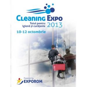 expo cleaning. CLEANING EXPO 2013 – totul pentru igienă și curățenie