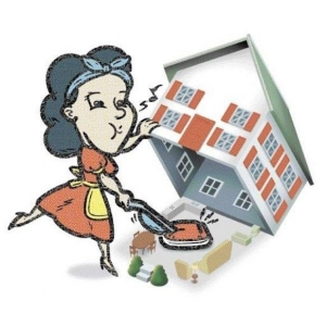 Curatenie de intretinere a locuintei pentru familia ta!