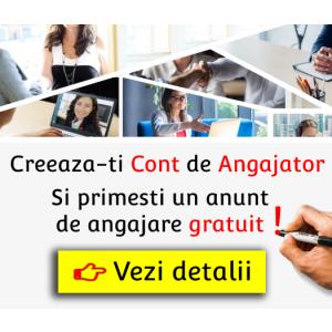 Esti angajator? Posteaza gratuit un anunt de angajare pe Trend-Jobs.ro