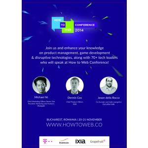 How to Web Conference 2014: Cum se transformă tendinţele viitorului în oportunităţi concrete de business