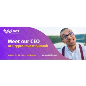 CEO-ul Rebeldot, Tudor Ciuleanu, singurul investitor roman prezent la summit-ul Crypto Invest in Los Angeles
