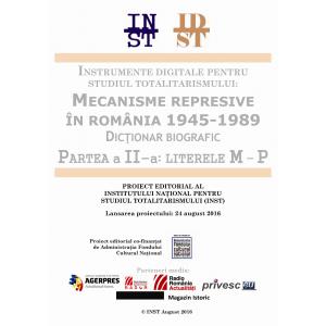 """1989. Încă 15.000 de microbiografii accesibile în format digital, în proiectul """"Mecanisme represive în România 1945-1989. Dicţionar biografic"""""""