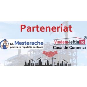 Vindem-Ieftin.ro si Mesterache.ro au lansat un Parteneriat dedicat clientilor ce sunt in cautarea materialelor de constructii si  mesterilor priceputi