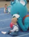 Competitia Bebelusilor. Competitia Bebelusilor care merg de-a busilea - la BABY EXPO !