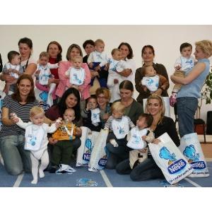 Ursuletul Nestle. 3.500 de bebelusi premiati de Ursuletul Nestle, la BABY EXPO !