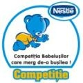 Competitia bebelusilor care merg de-a busilea la BABY EXPO !