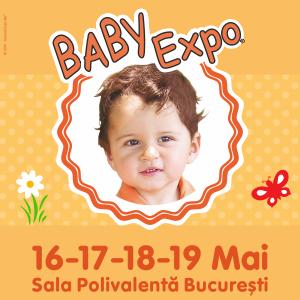 Joi 16 Mai incepe BABY EXPO, cel mai Cool eveniment dedicat viitoarelor Mamici si Parintilor cu Copii cu varste intre 0-5