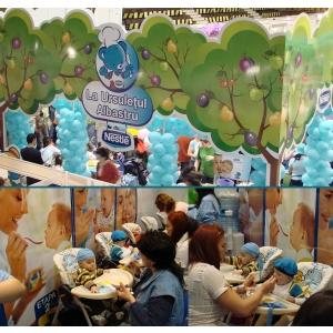 restaurantul bebelusilor. La Ursuletul Albastru - Restaurantul bebelusilor la BABY EXPO !