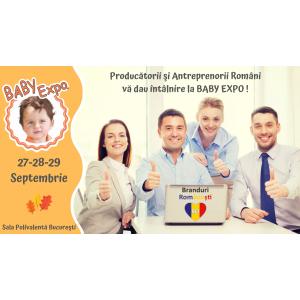 Producătorii şi Antreprenorii Români vă dau întâlnire la BABY EXPO / 27-29 Septembrie Sala Polivalentă Bucureşti
