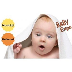 Scaunul auto pentru bebelusi cu airbag incorporat, caruciorul care se pliaza intr-o secunda, cea mai mica bucatarie mobila, vedete la BABY EXPO !