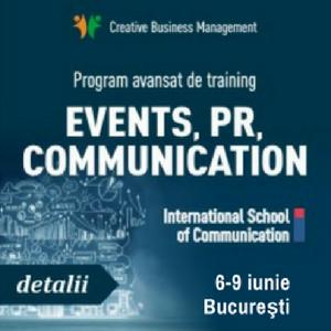 International School of Communication sustine o noua editie a trainingului avansat de comunicare pe 6-9 iunie