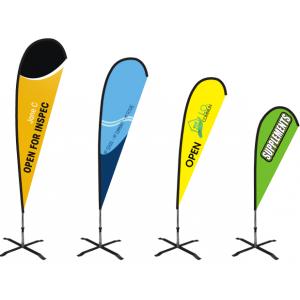 Baze pentru steaguri publicitare: Cum alegem forma potrivită
