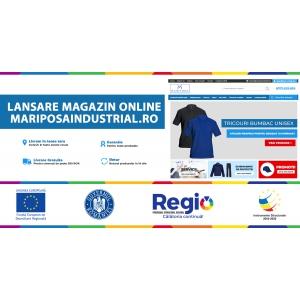 Lansare MariposaIndustrial.ro – magazin online de producție și personalizare produse textile