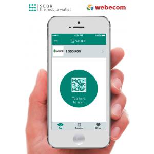 webeshop. Prin parteneriatul dintre Seamless şi furnizorul de soluţii e-commerce Webecom Peste 440 de magazine online au acces la soluţia de plată cu SEQR