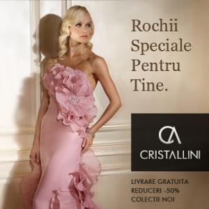 Cristallini Boutique lanseaza campania de reduceri