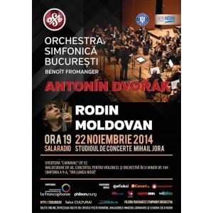 Antonin Dvorak. Kristjan Jarvi dirijeaza Orchestra Simfonica Bucuresti