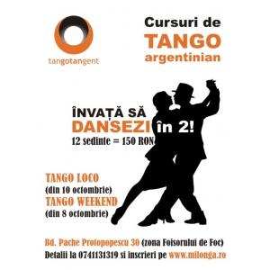 Invitatie la creativitate - danseaza tango argentinian!