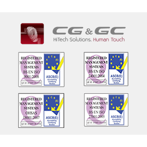 certificari iso. CG&GC Hitech Solution detine patru certificari ISO