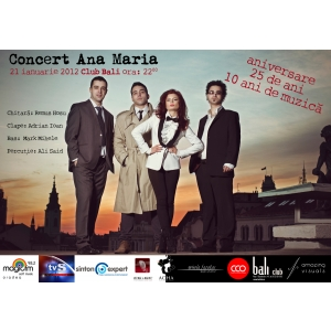 concert ana maria. Concert Ana Maria în Oradea