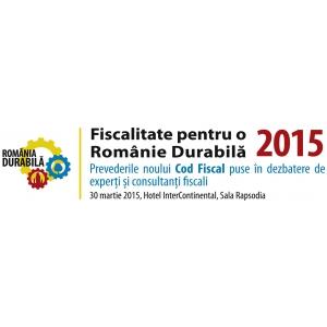 www fashiondays ro. Fiscalitate pentru o Romanie Durabila - Noul Cod Fiscal analizat de experti pentru micii antreprenori!