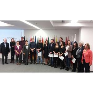 Fundația Euromonitor pentru Excelență a desemnat astăzi câștigătorii BURSELOR EUROPENE JTI PENTRU JURNALIȘTI – EDITIA 2016-2017