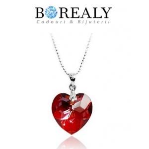 Borealy. Ultimele tendinte de Valentine's Day: Bijuterii Borealy cu Cristale Swarovski si trandafiri aur 24k!