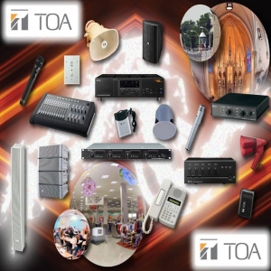 TOA Electronics a ales compania RomAudioVideo pentru distribuţie exclusivă în România