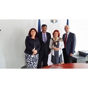 Presedintele Federatiei SOS Children's Villages International in vizita pentru prima data in Romania