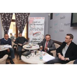 netex. Dezbatere pe tema locurilor de munca in Timisoara