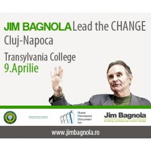"""Lead the Change""  in Cluj-Napoca. Trainerul Serviciilor Secrete Americane ne arata cum sa supravietuim actualelor schimbari sociale si economice."