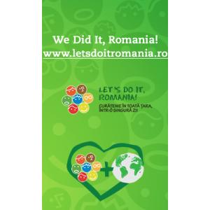 Vector Telecom - principalul furnizor national de servicii de fax – a sustinut Let's Do It, Romania 2012!