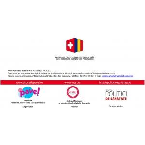 """oncopediatrie. Conferința Națională """"Intervenția pe termen lung – condiție esențială pentru integrarea optimă a copilului cu cancer!"""""""