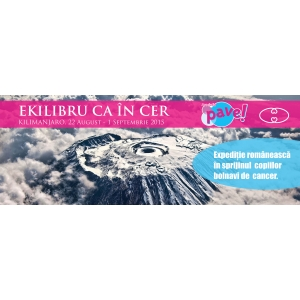 Eliza Nitescu va atinge in curand varful Kilimanjaro!