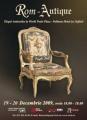 Cea de a-36-a editie a Targului Anticarilor la World Trade Plaza- Pullman Hotel  19-20 Decembrie 2009