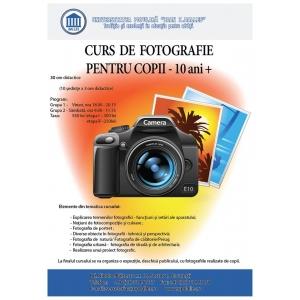Curs de fotografie pentru copii  (10 ani +)