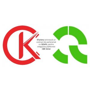 KFactory semnează un contract de parteneriat cu QQinfo, pentru integrarea platformei Qlik Sense