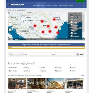 Harta Campusurilor din Romania