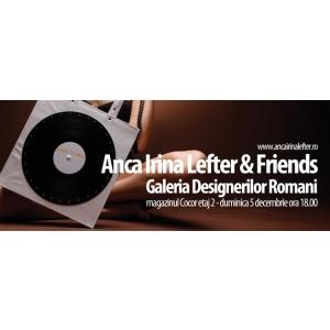 Anca Gitali. Cocor Department Store si Anca Irina Lefter te invita la cea mai noua colectie de accesorii !
