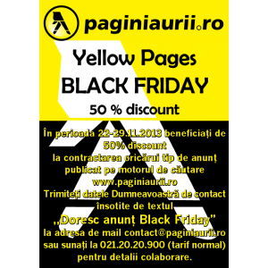 black-friday. Yellow Pages Black Friday